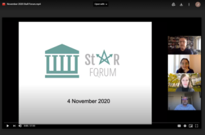 StaR Forum Presentation
